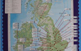 6F - Year 12 Destinations Map 2018