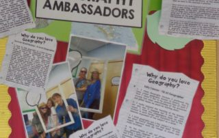Geog - Ambassadors Board with Quotes - March 2019