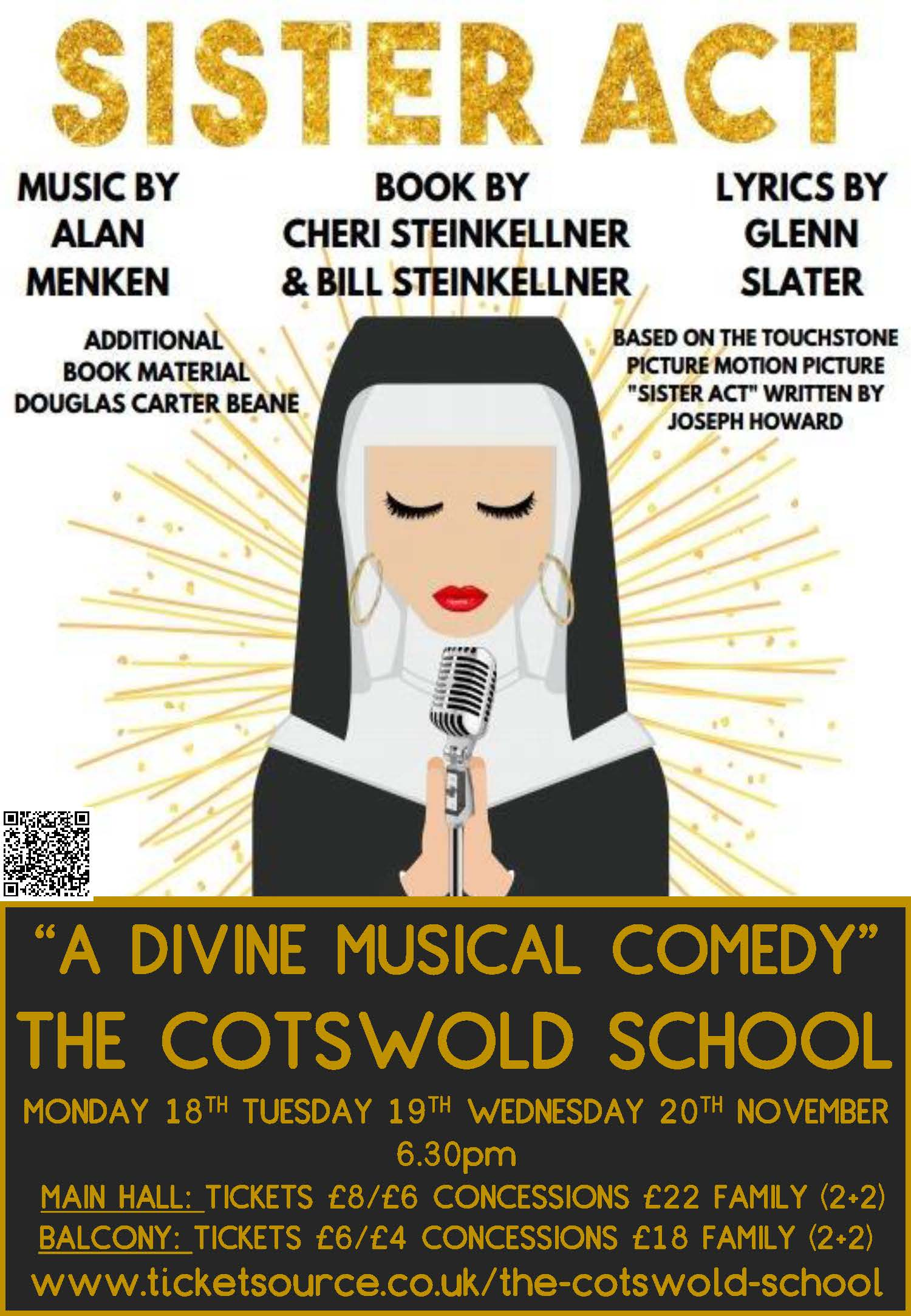 Sister Act coming to The Cotswold School