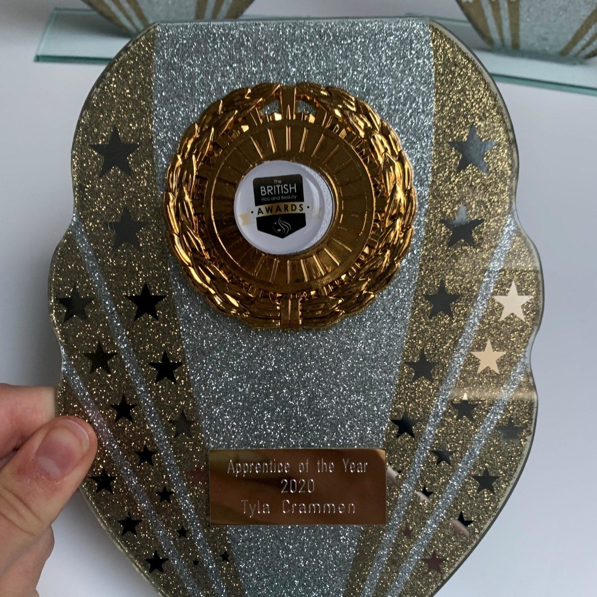Tyla's award (wecompress.com)