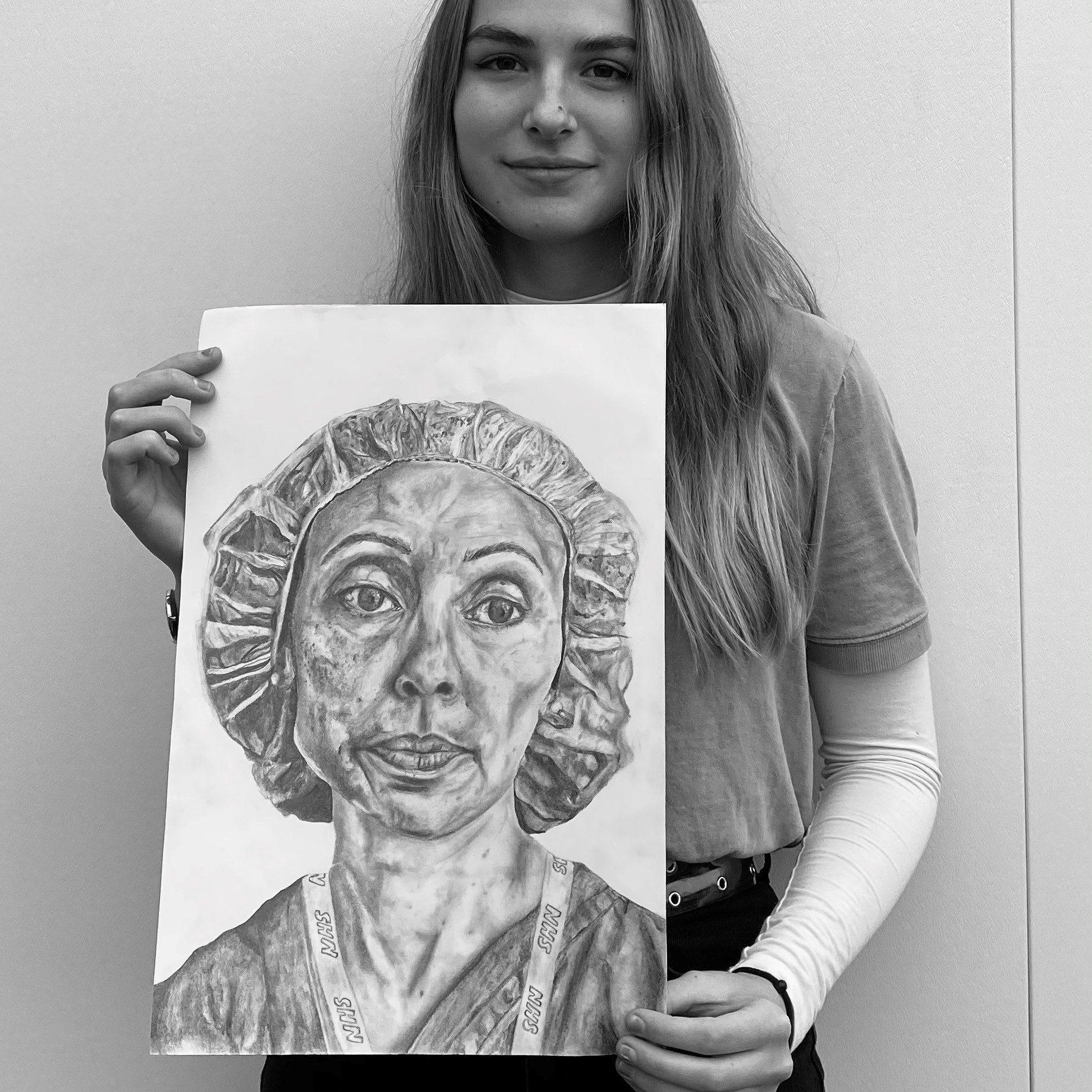 Poppy Ashmolean artist in residence drawing bw2.png