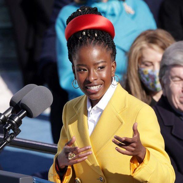 Amanda Gorman at inauguration